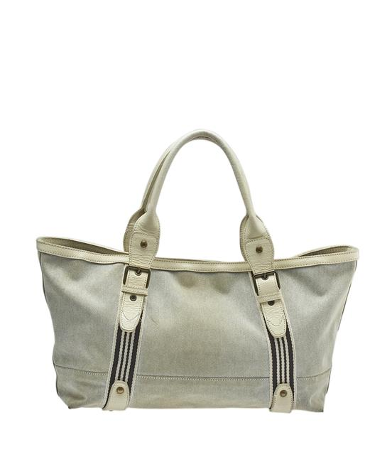 Item - Blue Label (141081) Grey Canvas Tote
