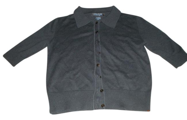 Kenneth Cole Button Down Short Sleeve Sweater