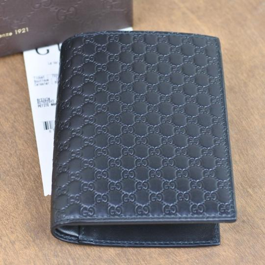 e111adc31f83 Gucci Black Passport Men s Wallet - Tradesy