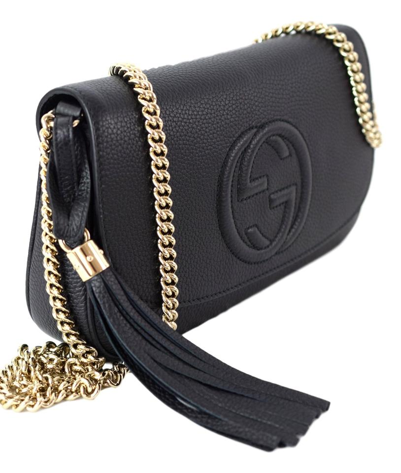 f94c704c32a5a8 Gucci Soho Leather Chain Crossbody Bag Review | Stanford Center for ...
