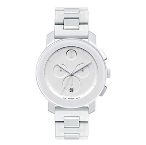 Movado Movado White Resin Stainless Bold 3600057 Chronograph Watch