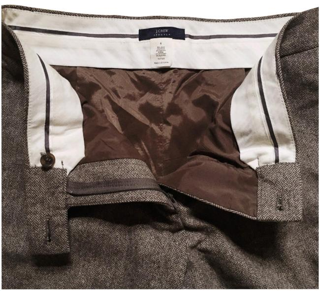 Item - Brown Wool Trousers Pants Size 6 (S, 28)