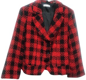 Coldwater Creek red/black Blazer