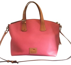 ac7191609e64 Dooney   Bourke Satchel in pink. Dooney   Bourke Patterson Trina Pink Leather  Satchel