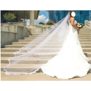 Mori Lee Ivory English Lace By Madeline Gardner Feminine Wedding Dress Size 4 (S)