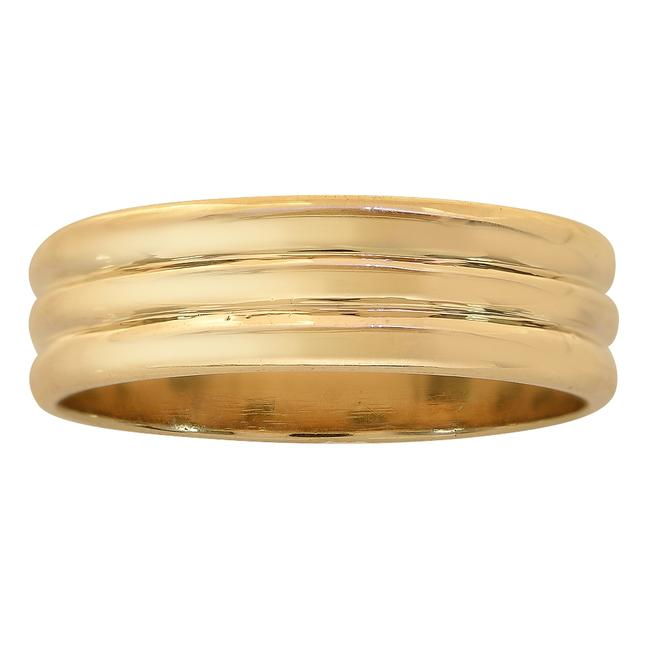 Item - Yellow Gold 6.1mm 14k Comfort Fit Ring Men's Wedding Band
