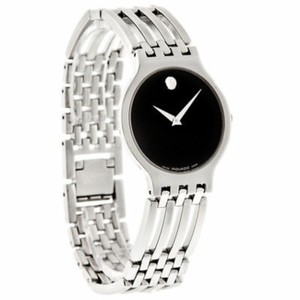 Movado Women's Swiss Esperanza Stainless Steel Bracelet Watch 28mm 0607051
