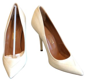 Malone Souliers Ivory Pumps