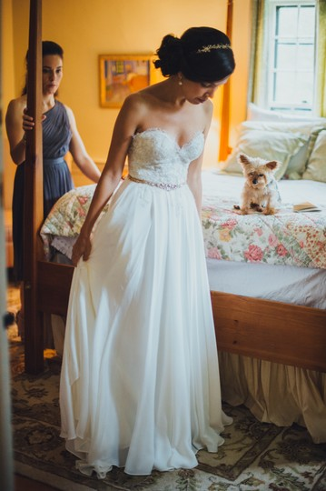 Sarah Seven Elizabeth Wedding Dress - Tradesy