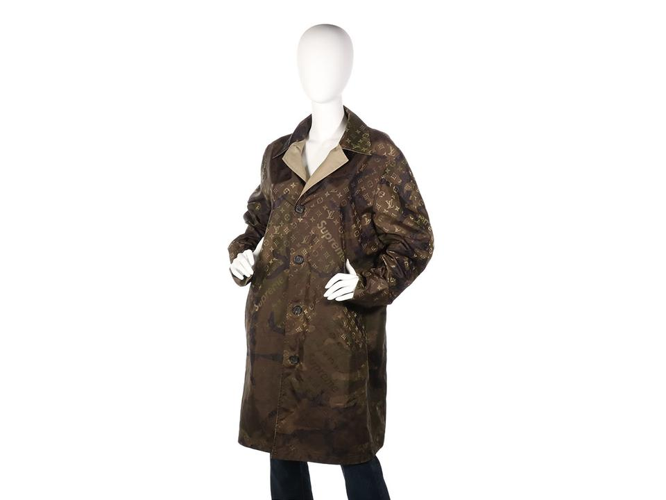 afd9b996c Louis Vuitton x Supreme Camouflage *sold On Ebay* Reversible Coat ...