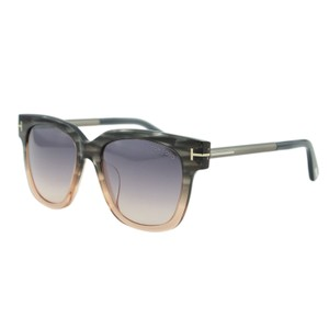 Tom Ford New TOM FORD TRACY FT0436 T Logo Oversize Square Sunglasses