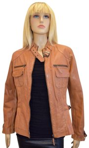 Bod & Christensen ORANGE Leather Jacket