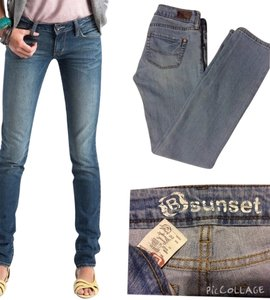 Bullhead Skinny Jeans-Medium Wash