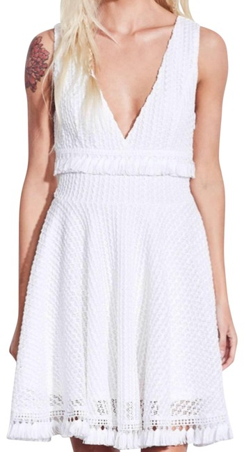Item - White Aj3-523 Kiss Me In The Candlelight Short Cocktail Dress Size 2 (XS)