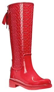 Coach Black or red Boots