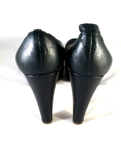 See by Chloé Bowtie Leather Black Pumps Image 1