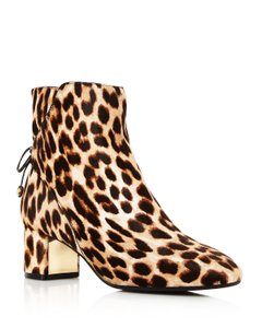 Tory Burch Leopard Brown Boots