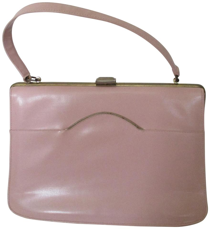 bf523ef50e21 Naturalizer Early Mod Kelly Style Top Handle Vintage Satchel in Pastel Pink  Image 0 ...