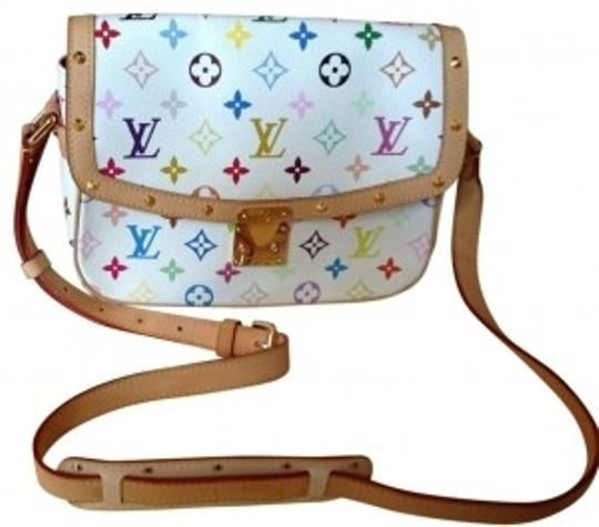 Preload https://img-static.tradesy.com/item/22626/louis-vuitton-white-with-colored-letters-shoulder-bag-0-0-540-540.jpg
