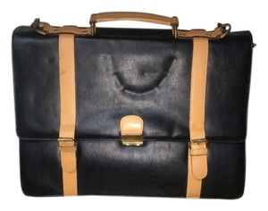 Black Leather Laptop Bag Laptop Bag