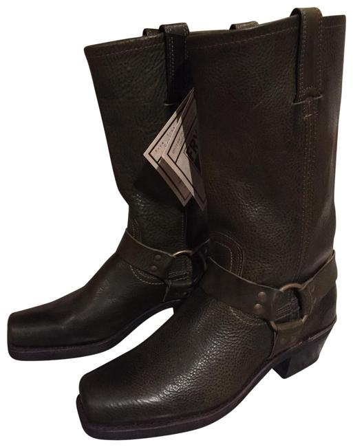Item - Olive Green Harness 12r Boots/Booties Size US 8.5 Regular (M, B)