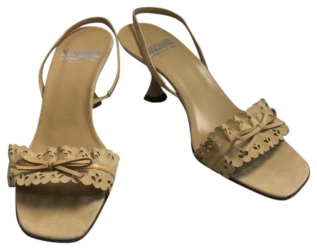 Item - Beige Cheap and Chic Dark Suede Leather Sandals Size EU 38.5 (Approx. US 8.5) Regular (M, B)