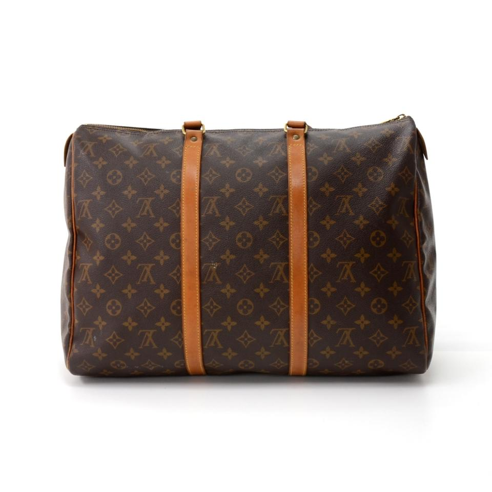 louis vuitton flanerie vintage sac 45 monogram brown canvas shoulder bag tradesy. Black Bedroom Furniture Sets. Home Design Ideas