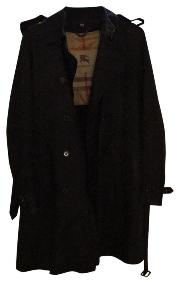 ba5d89a5d5ff Burberry London Black Double Breasted Coat Size 8 (M) - Tradesy