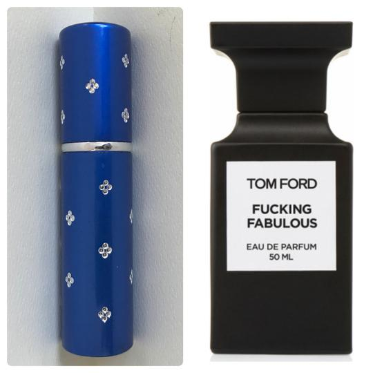 tom ford blue 5ml atomizer filled with f cking fabulous. Black Bedroom Furniture Sets. Home Design Ideas