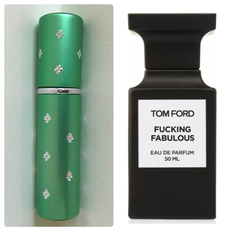 tom ford green 5ml atomizer filled with f cking fabulous. Black Bedroom Furniture Sets. Home Design Ideas