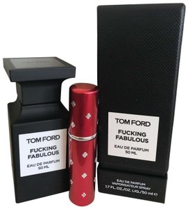 Tom Ford Red 5ML Atomizer Filled with F*cking Fabulous Perfume