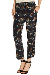 Thakoon Addition Trousers Silk Capri/Cropped Pants Black