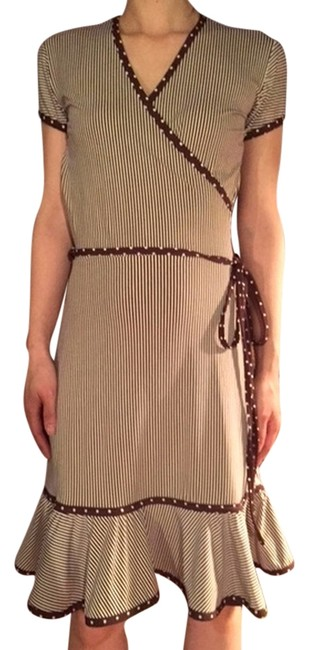Other short dress Brown Stripes on Tradesy
