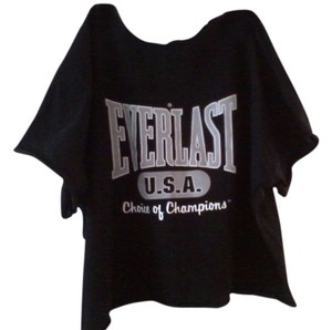 Everlast T Shirt Black