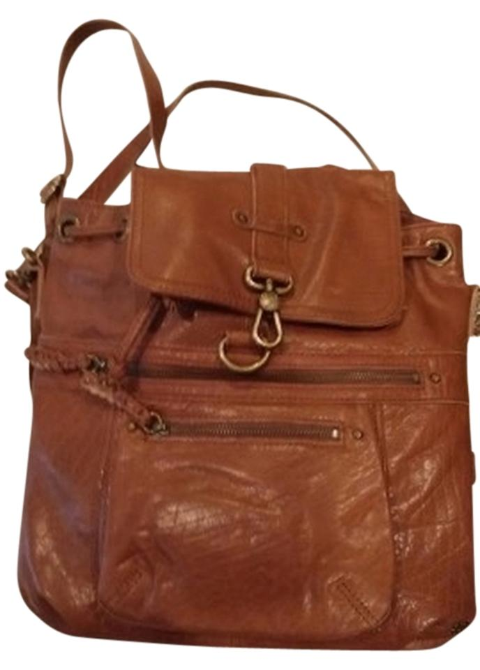 e6d1498a0 The Sak Mariposa Convertible Brown Leather Backpack - Tradesy