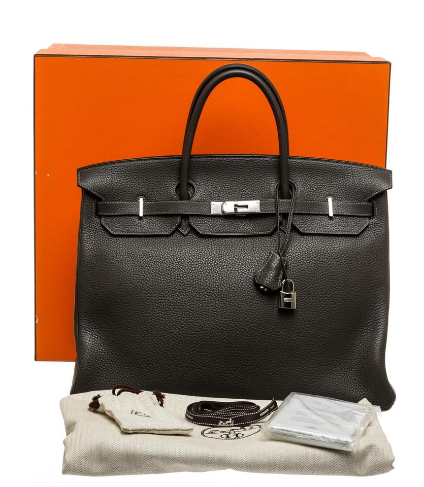 7538546768 Hermès birkin togo handbag gray leather satchel jpg 835x960 Gray birkin