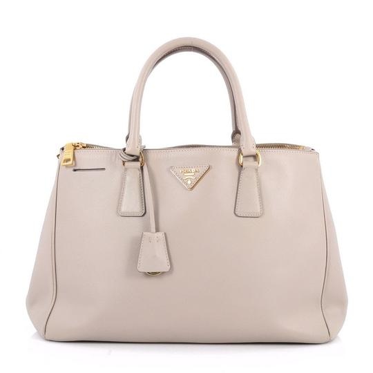 d54e9ac324f6 Prada Grey Leather Tote | Stanford Center for Opportunity Policy in ...