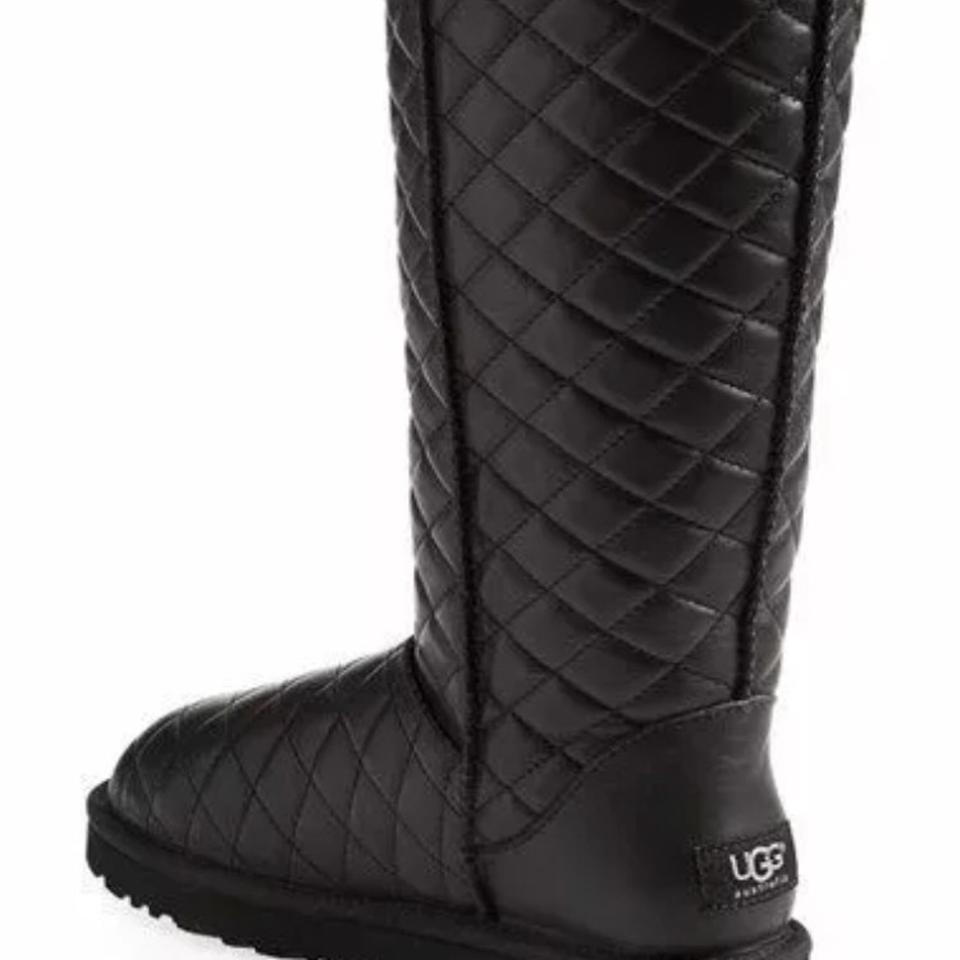 Ugg Australia Black Diamond Quilted Soldout Boots Booties