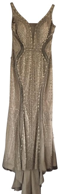 Item - Silver 000 Long Formal Dress Size 10 (M)