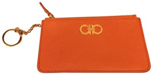 Salvatore Ferragamo New Wallet with key chain, coin pouch