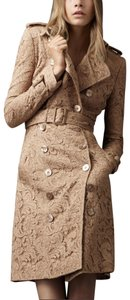 Burberry Lace Floral Trench Coat