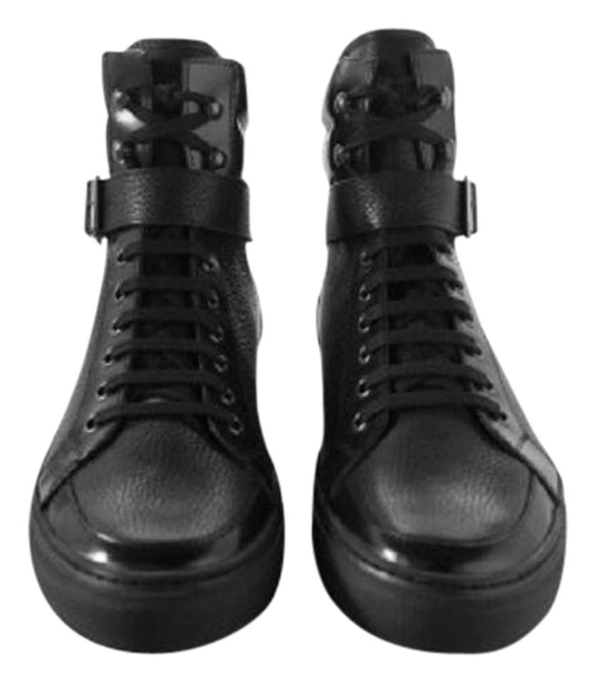 5a7f243be04 The Kooples Black Mens Leather New 10 Sneakers Size EU 42 (Approx. US 12)  Regular (M, B) 44% off retail