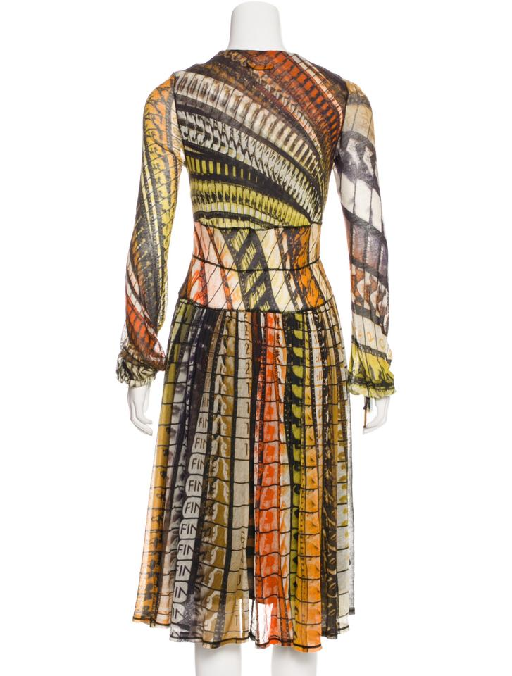 Maxi Dress Gaultier Paul Multicolor Casual Jean Midi XHYxq