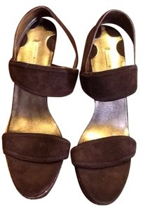 Max Studio chocolate brown Platforms