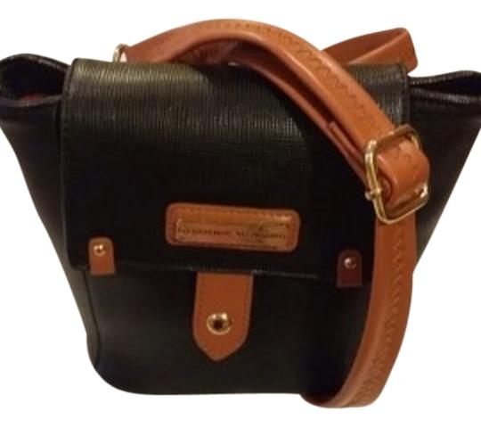 Preload https://item2.tradesy.com/images/adrienne-vittadini-saffiano-collection-black-faux-leather-cross-body-bag-2262916-0-0.jpg?width=440&height=440