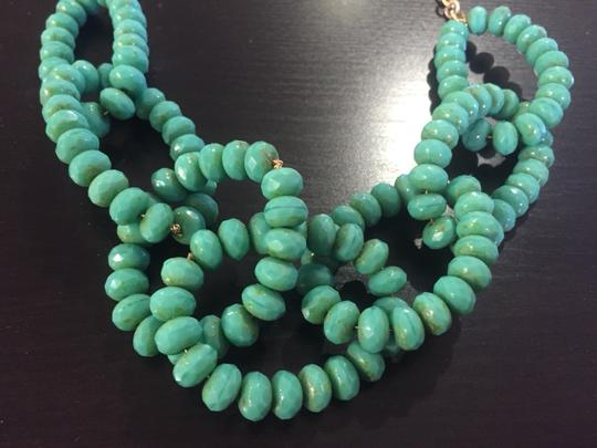 Other Turquoise Beaded Statement Necklace
