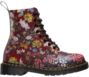 Dr. Martens Multi colored floral Boots
