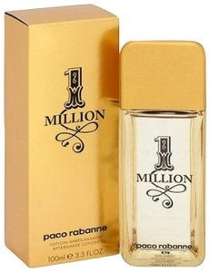paco rabanne ONE MILLION BY PACO RABANNE AFTER SHAVE LOTION-100 ML-SPLASH-SPAIN