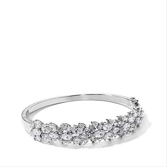 Preload https://item5.tradesy.com/images/victoria-wieck-silver-13ct-absolute-hinged-cluster-bangle-bracelet-2263014-0-0.jpg?width=440&height=440