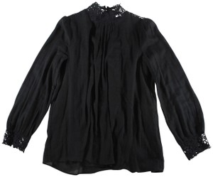 Masscob Embroidered Top Black